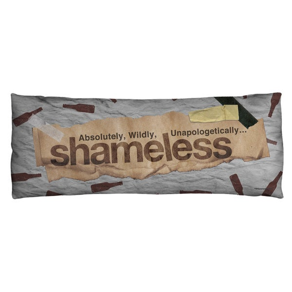 Shameless/Bottles Microfiber Body Pillow
