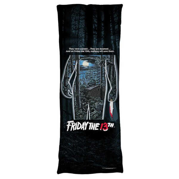 Friday The 13Th/Poster Microfiber Body Pillow
