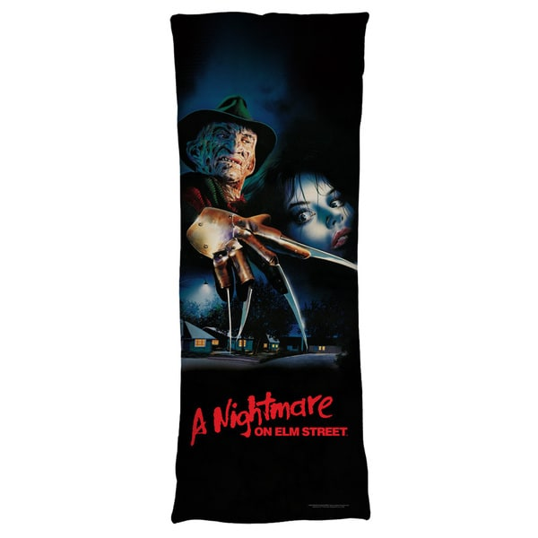 Nightmare On Elm Street/Freddy Poster Microfiber Body Pillow