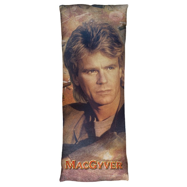 Macgyver/Tools Of The Trade Microfiber Body Pillow