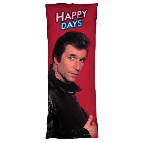 Happy Days/Red Fonz Microfiber Body Pillow