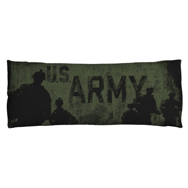 Army/Strong Microfiber Body Pillow