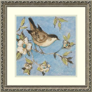 Framed Art Print 'Native Finch I' by Susan Winget 18 x 18-inch