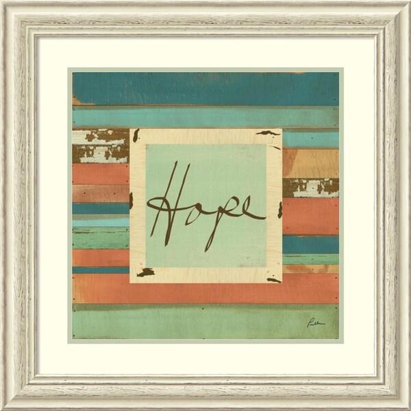 Framed Art Print 'Hope' by Grace Pullen 27 x 27-inch