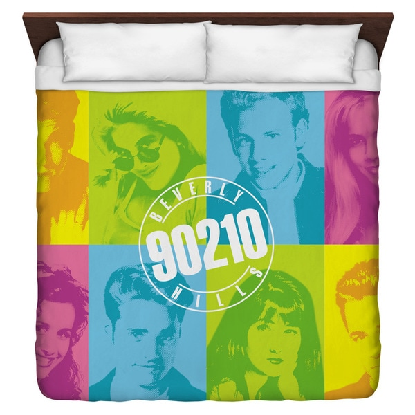 Beverly Hills 90210/Color Blocks Duvet Cover