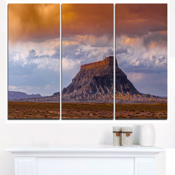 Factory Buttle Utah Panorama - Landscape Artwork Canvas