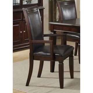 Brown Walnut Arm Chair