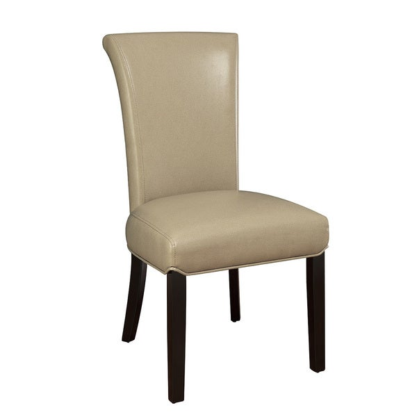 Beige Contemporary Side Chair