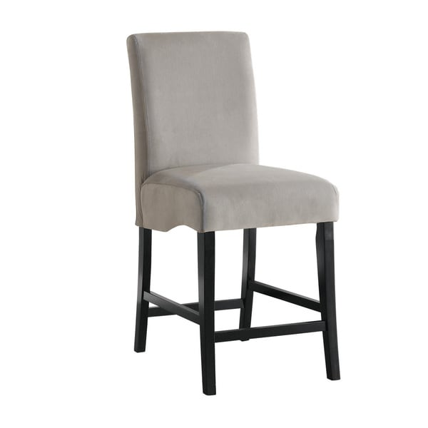 Coaster Company Stanton Grey and Black Barstool