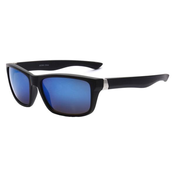 Epic Eyewear Sporty Retro Durable Full Frame UV400 Wayfarer Sunglasses