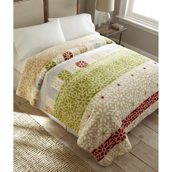 Polyester Patterned High Pile Blanket