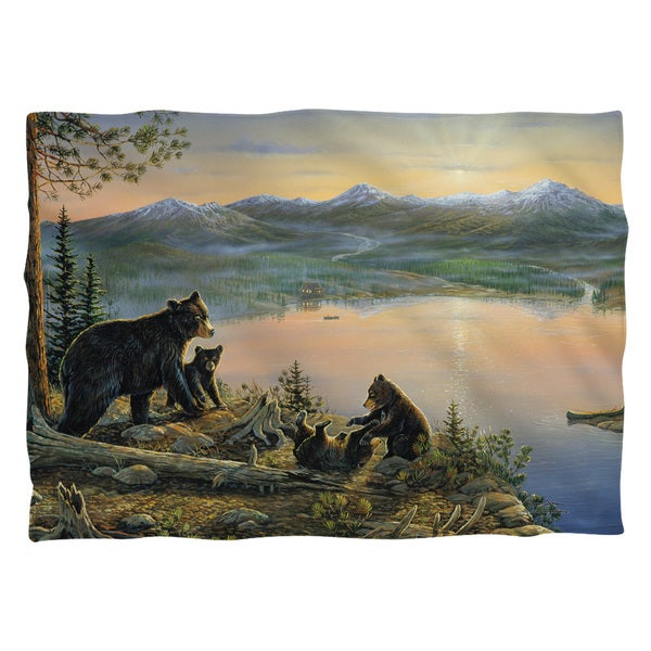 Wild Wings/Serenity At Twilight 2 Polyester 20x28 Pillowcase 19671057