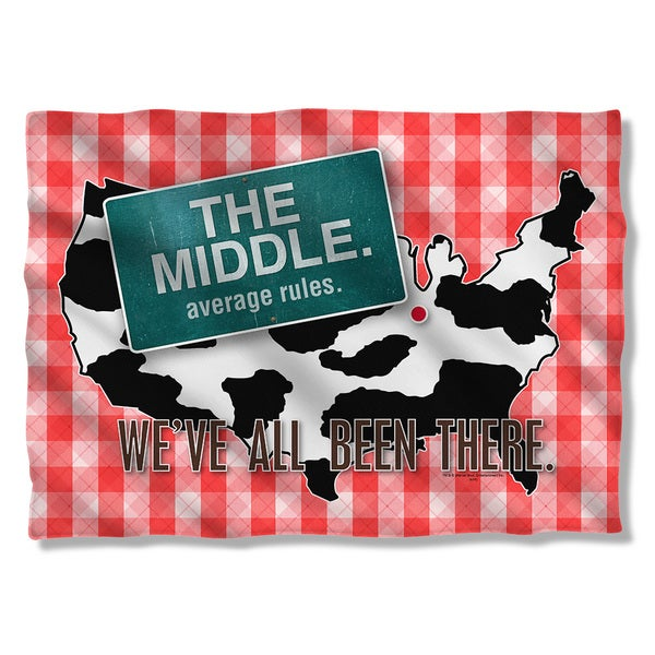 Middle/Been There Pillowcase
