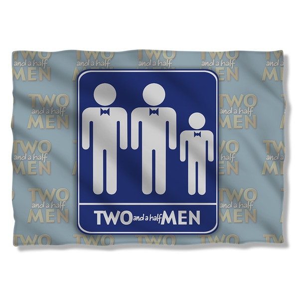 Two and A Half Men/Men Pillowcase