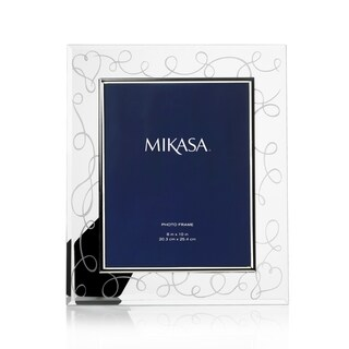 Mikasa Love Story Clear Glass/Metal Frame (8 x 10)
