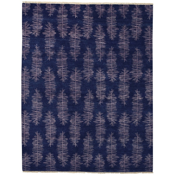 Hable Construction Frasier Hand Knotted Rug (8' x 11')