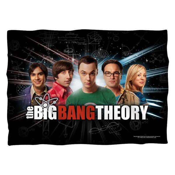 Big Bang Theory/Group Spark (Front/Back Print) Pillowcase