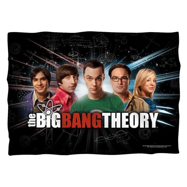 Big Bang Theory/Group Spark (Front/Back Print) Pillowcase