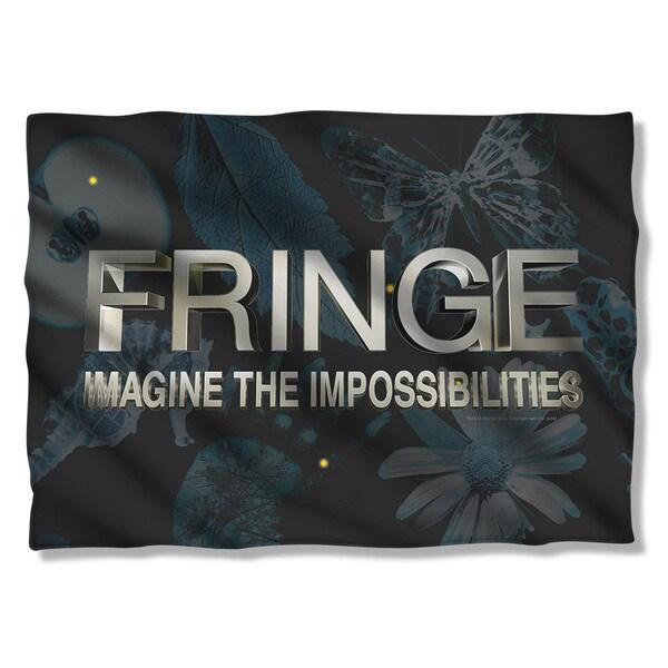 Fringe/Logo (Front/Back Print) Pillowcase