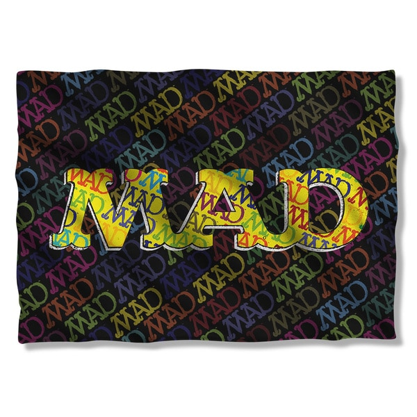 Mad/So Much Mad (Front/Back Print) Pillowcase