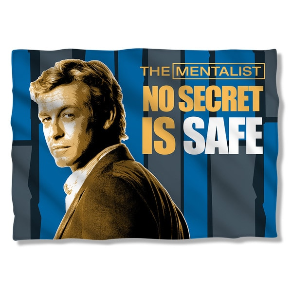 Mentalist/No Secrets (Front/Back Print) Pillowcase