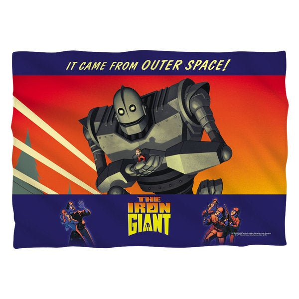 Iron Giant/It Came From Space (Front/Back Print) Pillowcase