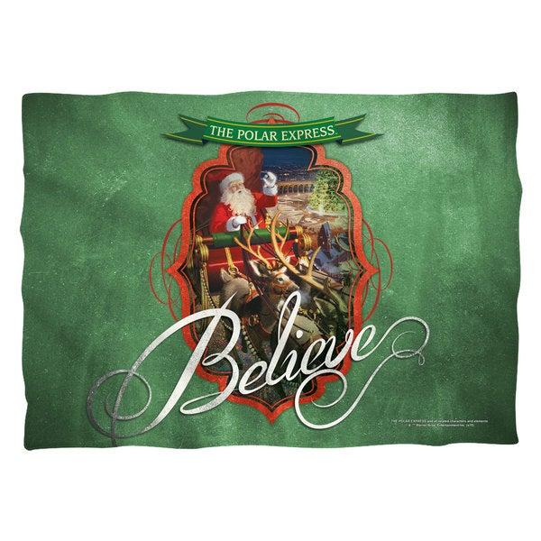 Polar Express/Santa (Front/Back Print) Pillowcase
