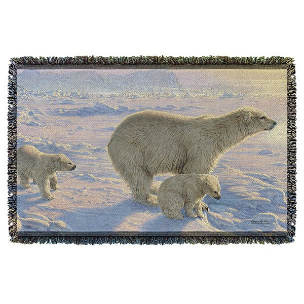 Wild Wings/On The Edge 2 Graphic Woven Throw