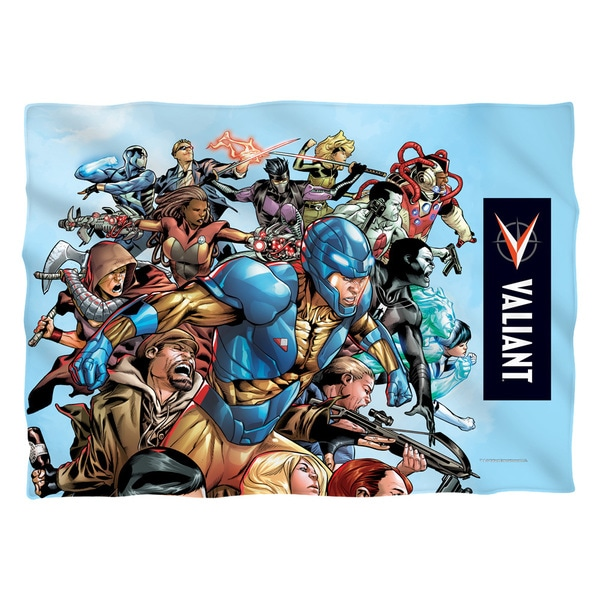 Valiant/Group Attack (Front/Back Print) Pillowcase
