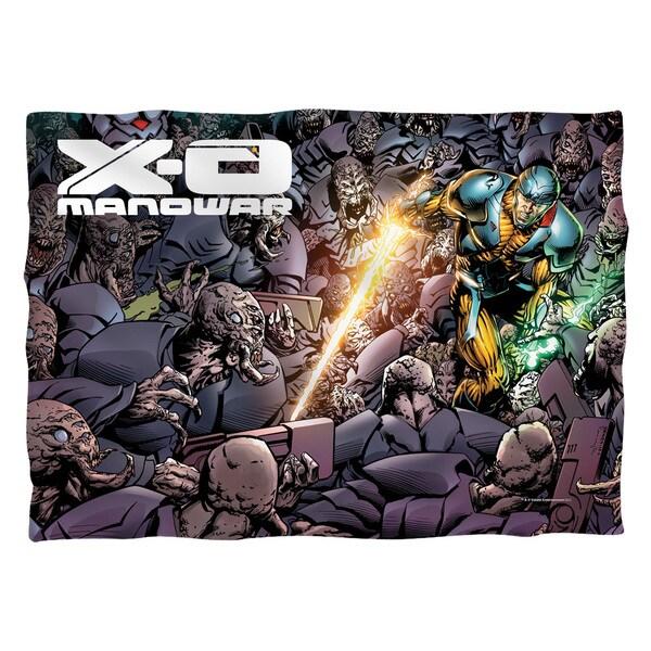 Xo Manowar/Legion (Front/Back Print) Pillowcase