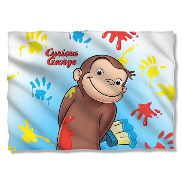 Curious George/Paint Pillowcase