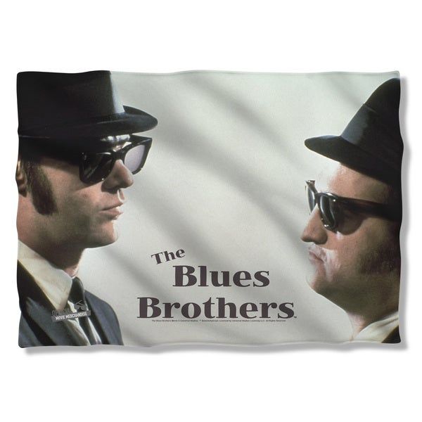 Blues Brothers/Brothers (Front/Back Print) Pillowcase