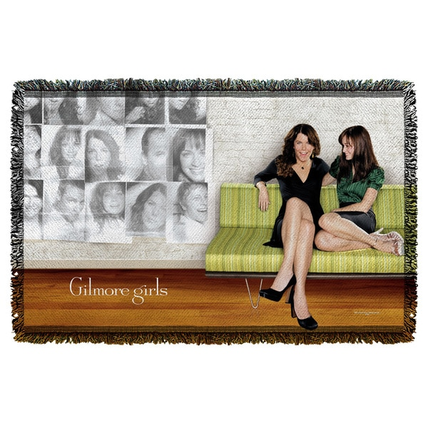 Gilmore Girls/Couch Graphic Woven Throw