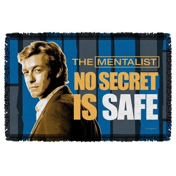 Mentalist/No Secrets Graphic Woven Throw