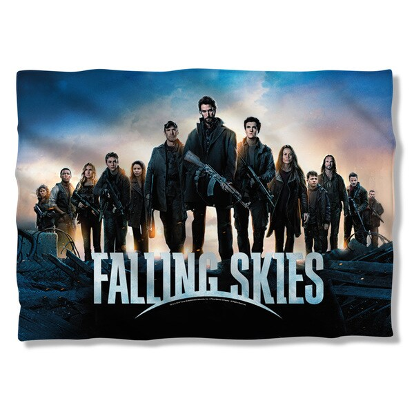 Falling Skies/Poster (Front/Back Print) Pillowcase