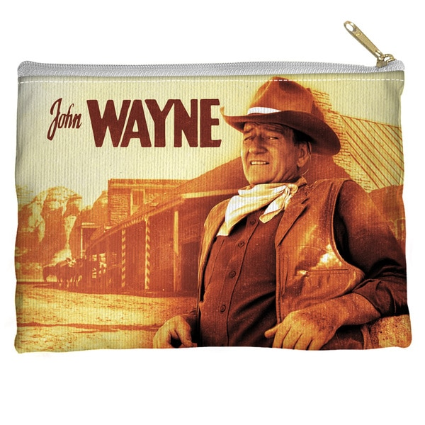 John Wayne/Old West Spun Polyester Accessory Pouch