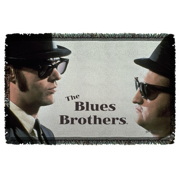 Blues Brothers/Brothers Graphic Woven Throw