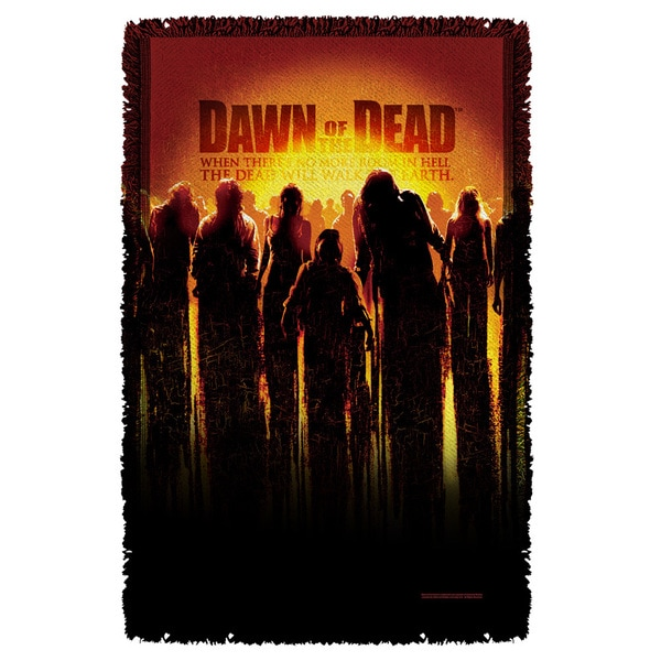 Dawn Of The Dead/Dead Graphic Woven Throw