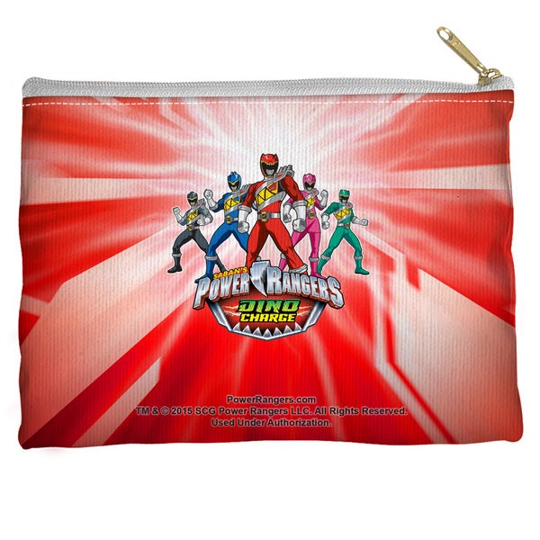 Power Rangers/Dino Ranger Spun Polyester Accessory Pouch