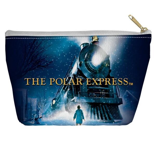 Polar Express/Poster Spun Polyester Accessory Pouch