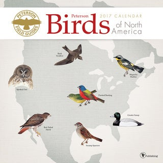 2017 Peterson Field Guide Birds Wall Calendar