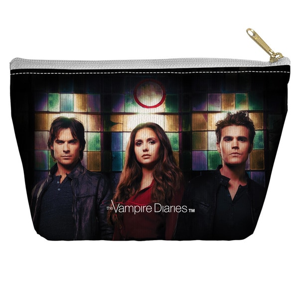 Vampire Diaries/Stained Glass Spun Polyester Accessory Pouch