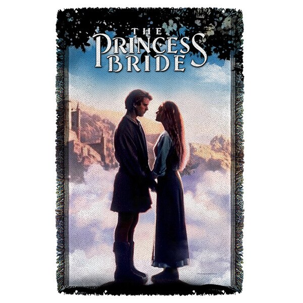 Princess Bride/Storybook Love Graphic Woven Throw 19679531