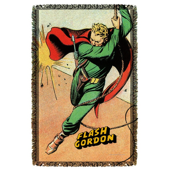 Flash Gordon/Space Graphic Woven Throw