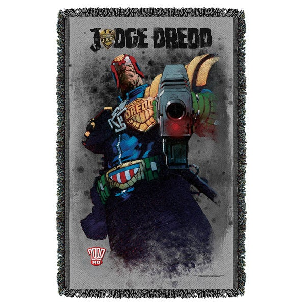 Judge Dredd/Last Words Graphic Woven Throw