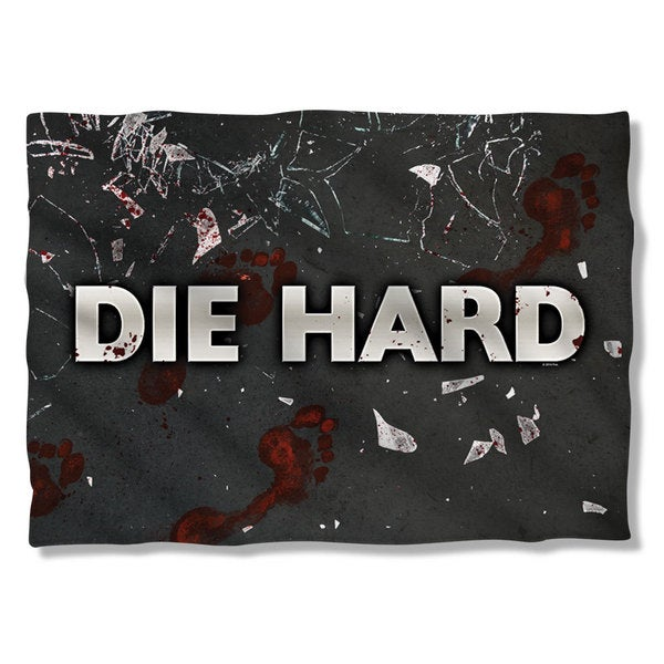 Die Hard/Broken Glass Pillowcase