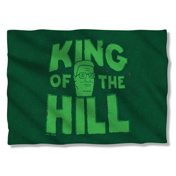 King Of The Hill/In Grass Pillowcase