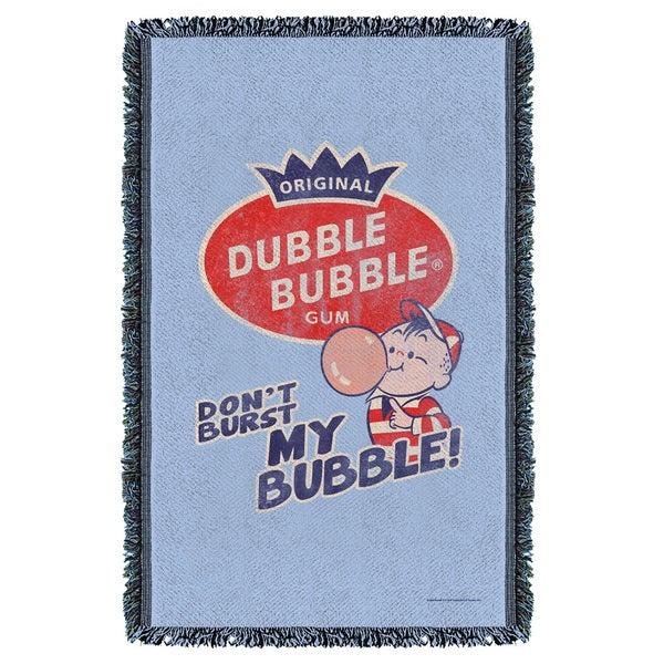 Dubble Bubble/Burst Bubble Graphic Woven Throw 19680019