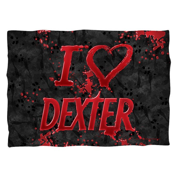 Dexter/I Heart Dexter Pillowcase