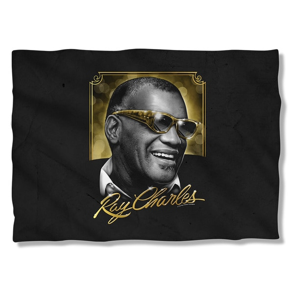 Ray Charles/Golden Glasses Pillowcase 19680575